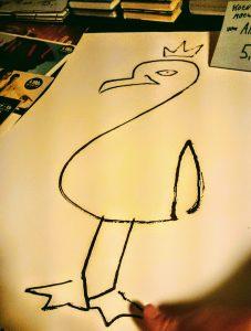 """""""König der Möwen"""", Seagull, Möwe, Poster, Illustration"""