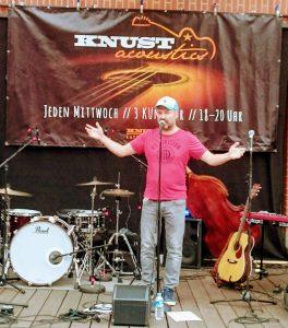 Knust Acoustics, Knust, Club, Open Air, Concert, Siebeth, host, Moderator, Pop in Hamburg