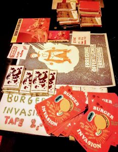 Burger Invasion, Burger Records, Label, Festival, Molotow, Club, St. Pauli, Hamburg, Merchandise, Flyer, Records, Tapes
