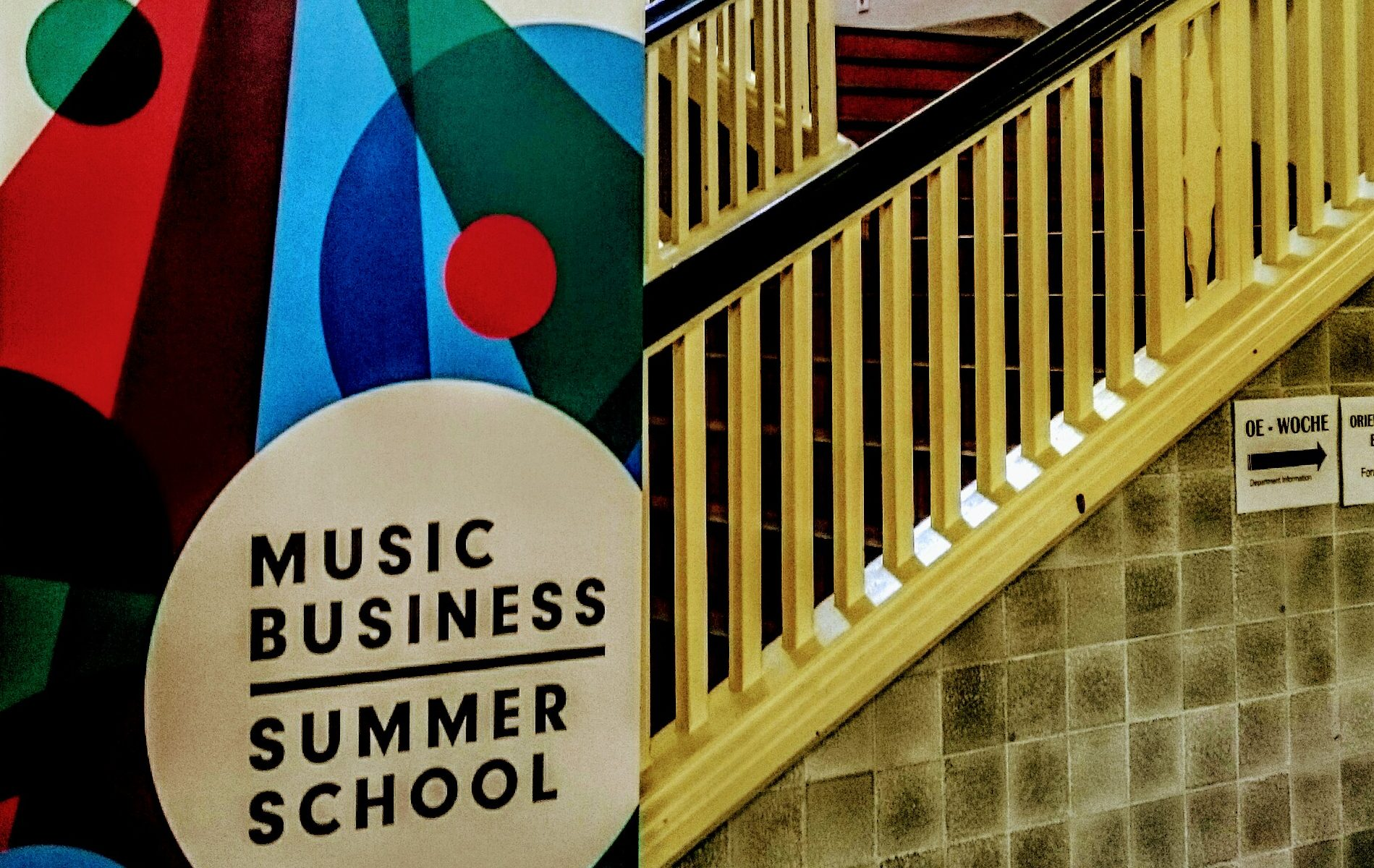 Music Business Summer School, IHM, Hamburg Media School, Pop, Business, Workshop, Learning, Poster, Design, CI