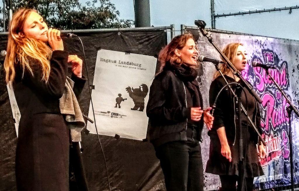 """The Sound Of St. Pauli"", concert, St. Pauli, Hamburg, Reeperbahn, Pop, Folk, Soul, Miu, Sarajane, Magnus Landsberg, Norma, Nils Christian Wedtke, Open Air, BID"