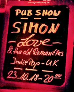 Simon Love, UK, Band, musician, Concert, Monkeys Music Club, Hamburg, Pop