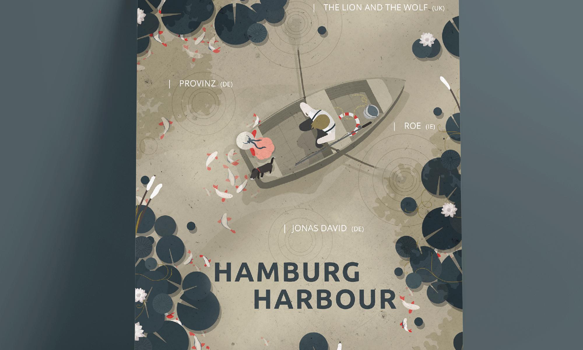 Husum Harbour Festival, Hamburg Harbour Festival, Booker, Veranstalter, Sebastian Madej, Haus 73, Hamburg, Artwort, Poster, Denise Hennings