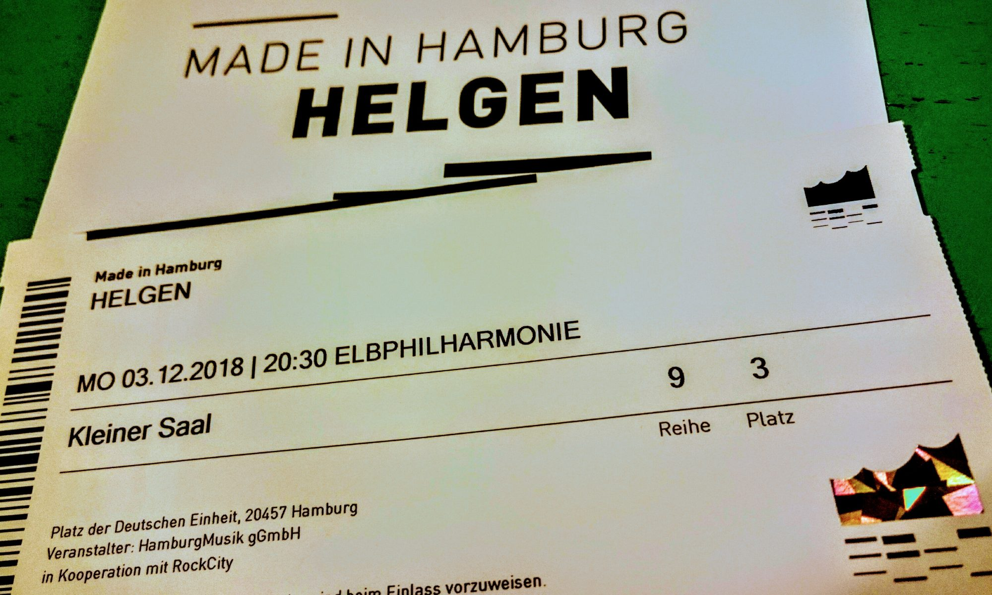 Helgen, Band, Hamburg, Made in Hamburg, Konzertreihe, Elbphilharmonie, Rockcity, Pop, Rock, Helgen Schulz, Timon Schempp, Niklas Beck, Singer, Guitar, Drums, Keyboard, Base