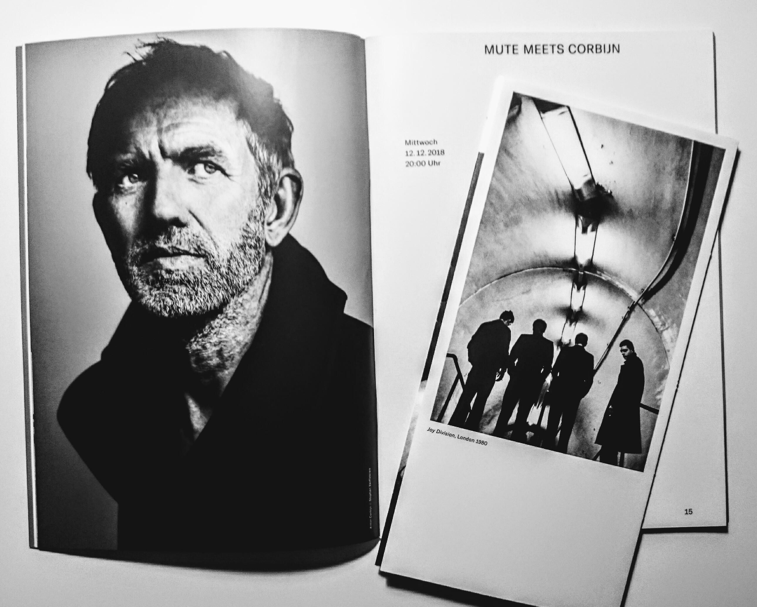 Exhibition, Photographie, Anton Corbijn, Bucerius Kunst Forum, Hamburg, Popmusic, Talk, Daniel Miller, Mute Records, Max Dax, Musicjournalist, Joy Division