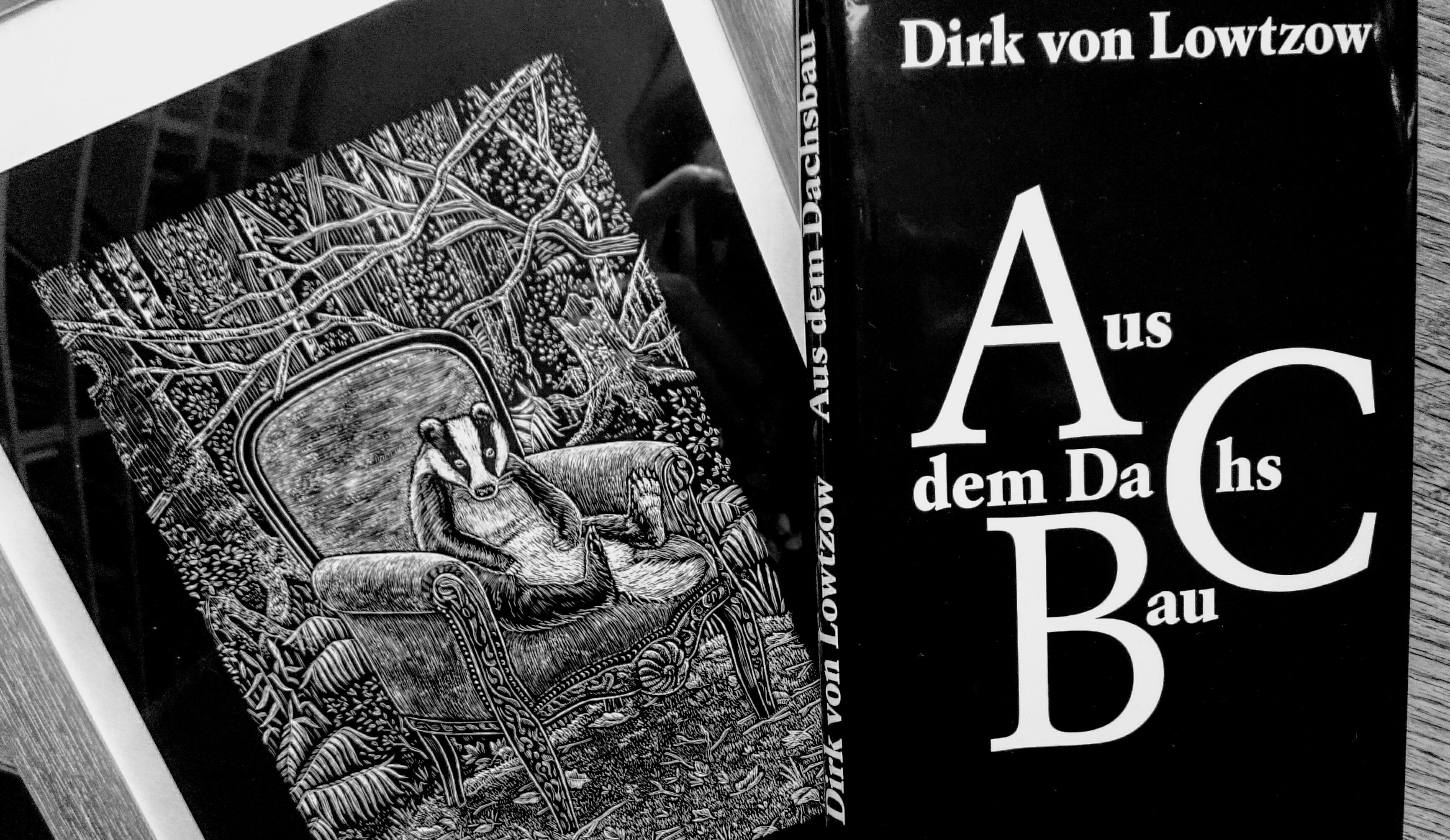 Dirk von Lowtzow, Aus dem Dachsbau, Buch, Kiepenheuer & Witsch, Hardcover, Tocotronic, Alphabet, Dachs, Illustration, Line Hoven, Pop, Hamburg