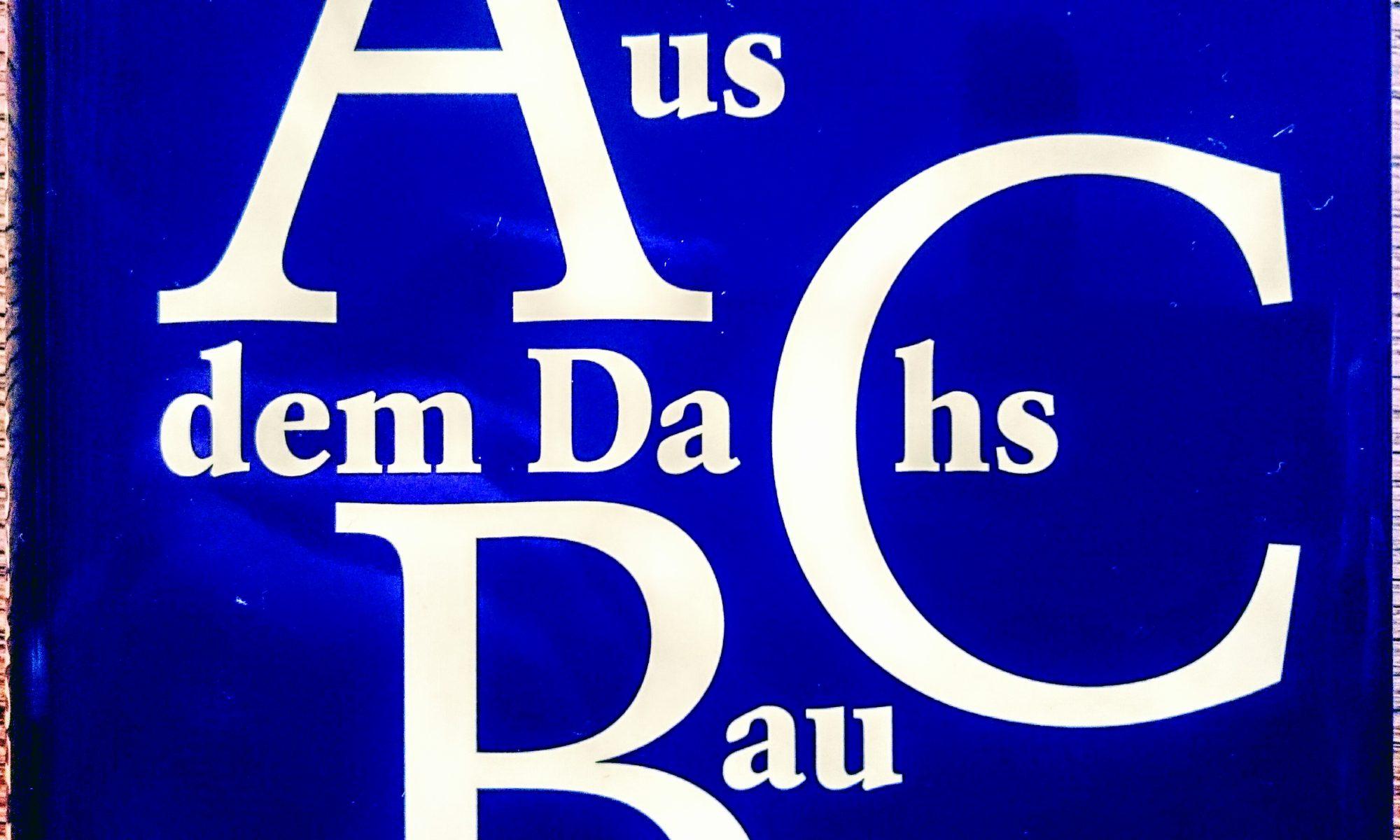 Dirk von Lowtzow, Aus dem Dachsbau, Buch, Kiepenheuer & Witsch, Hardcover, Tocotronic, Alphabet, Dachs, Pop, Hamburg