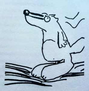 Dirk von Lowtzow, Aus dem Dachsbau, Buch, Kiepenheuer & Witsch, Hardcover, Tocotronic, Alphabet, Dachs, Illustration, Pop, Hamburg
