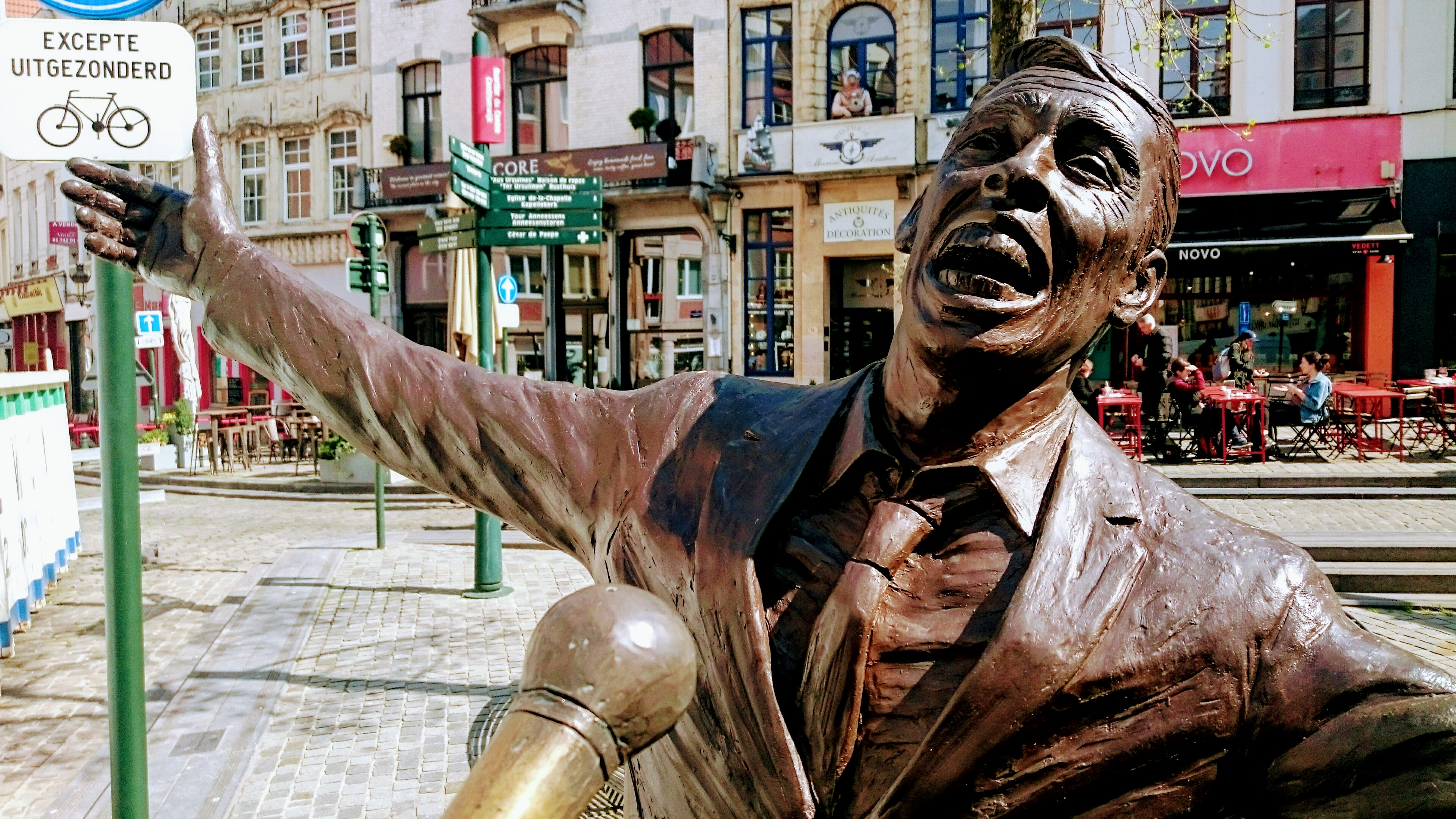Jacques Brel, Brussels, Chansonnier, Singer, Tour, Sightseeing, Auditour, Belgium, walk, songs