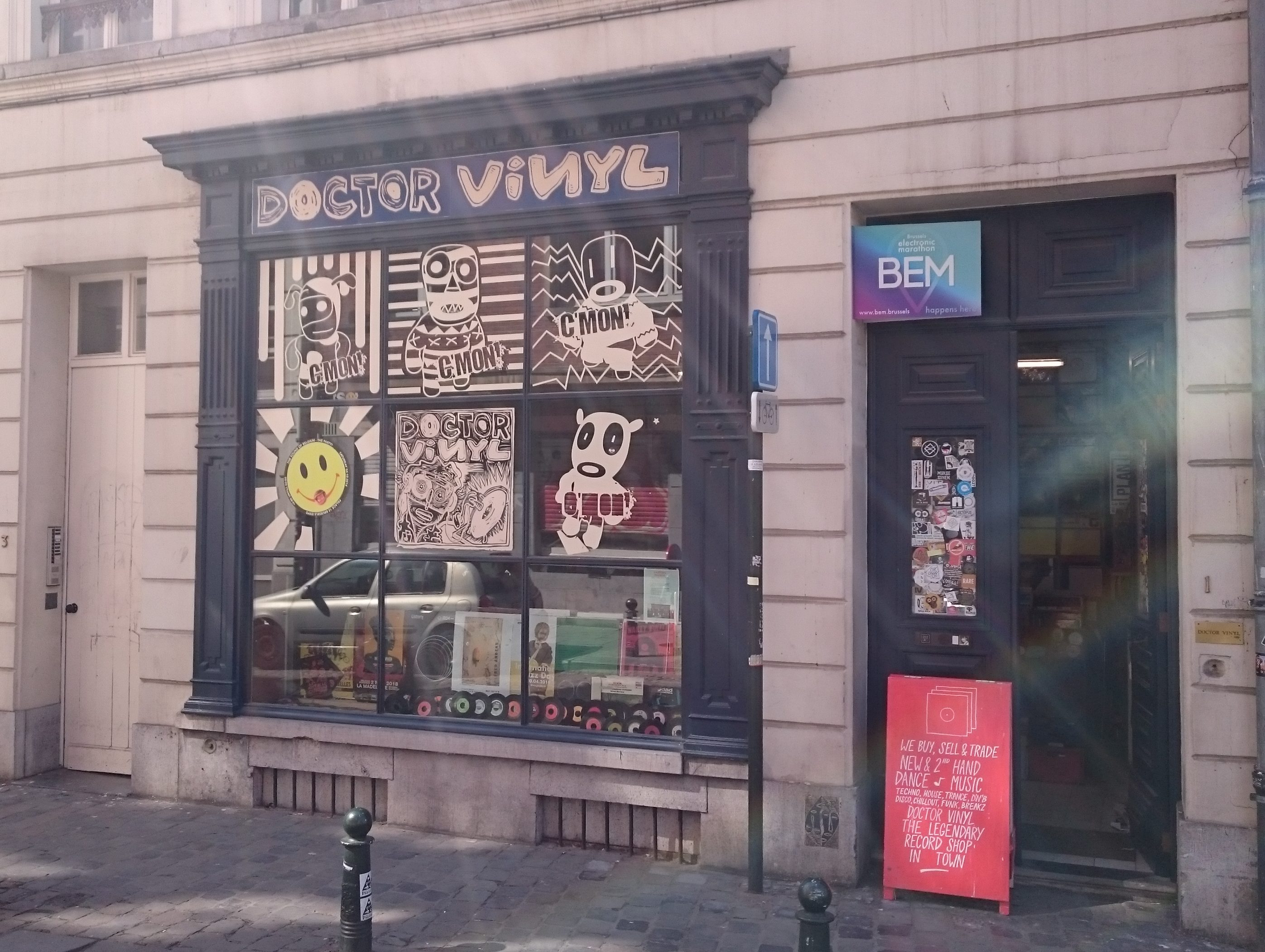 Recordstore, Brussels, records, vinyl, shop, Belgium, pop, music