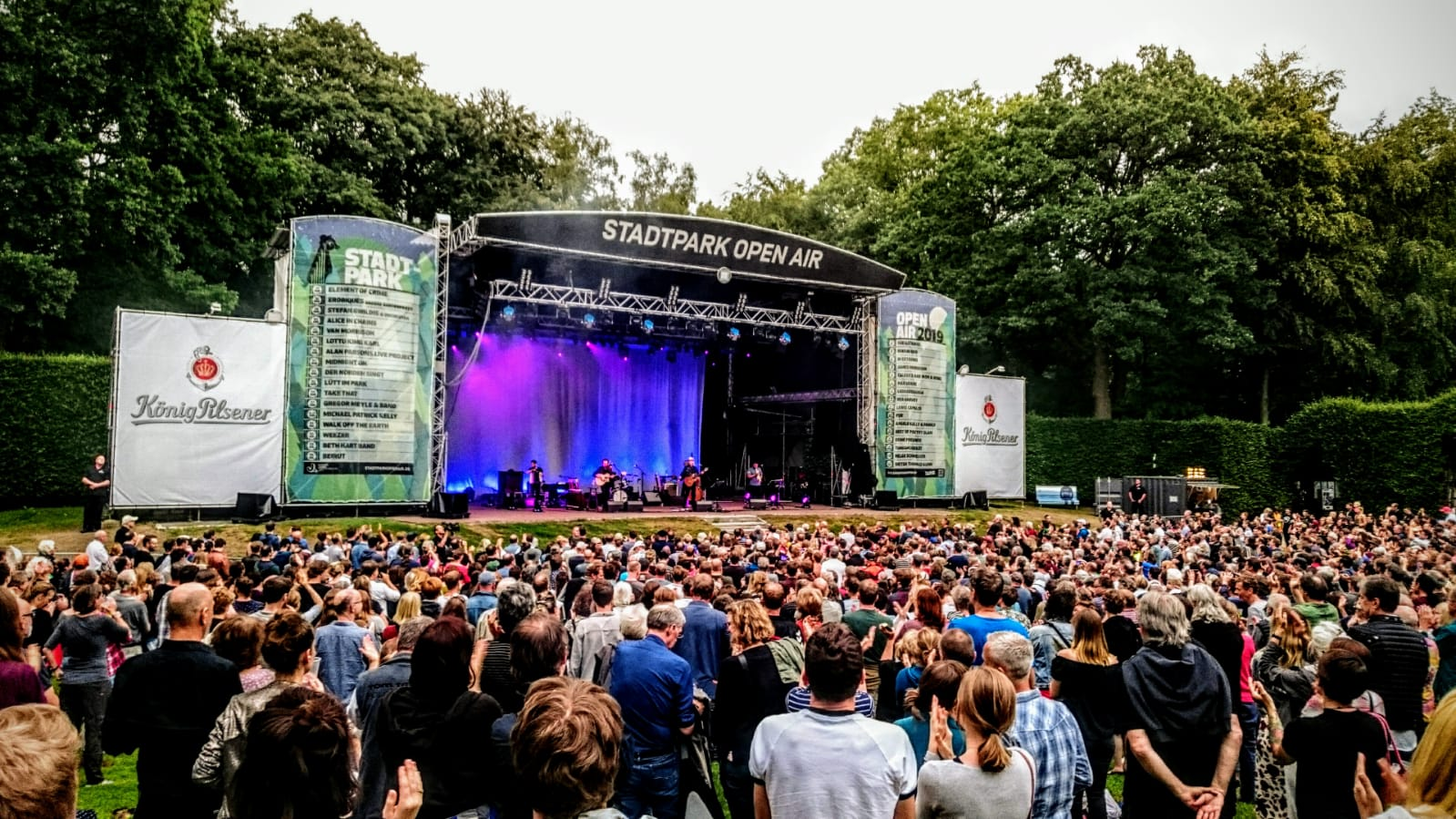 Calexico, Iron & Wine, Stadtpark, Open Air, concert, Years To Burn, Album, Folk, Pop, Country, Trees