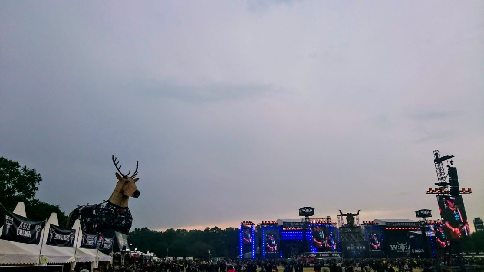 Wacken Open Air, Wacken 2019, Festival ground, Festival, Holy land, Open Air, Metal, Music, Biggy Pop, Blog, stage
