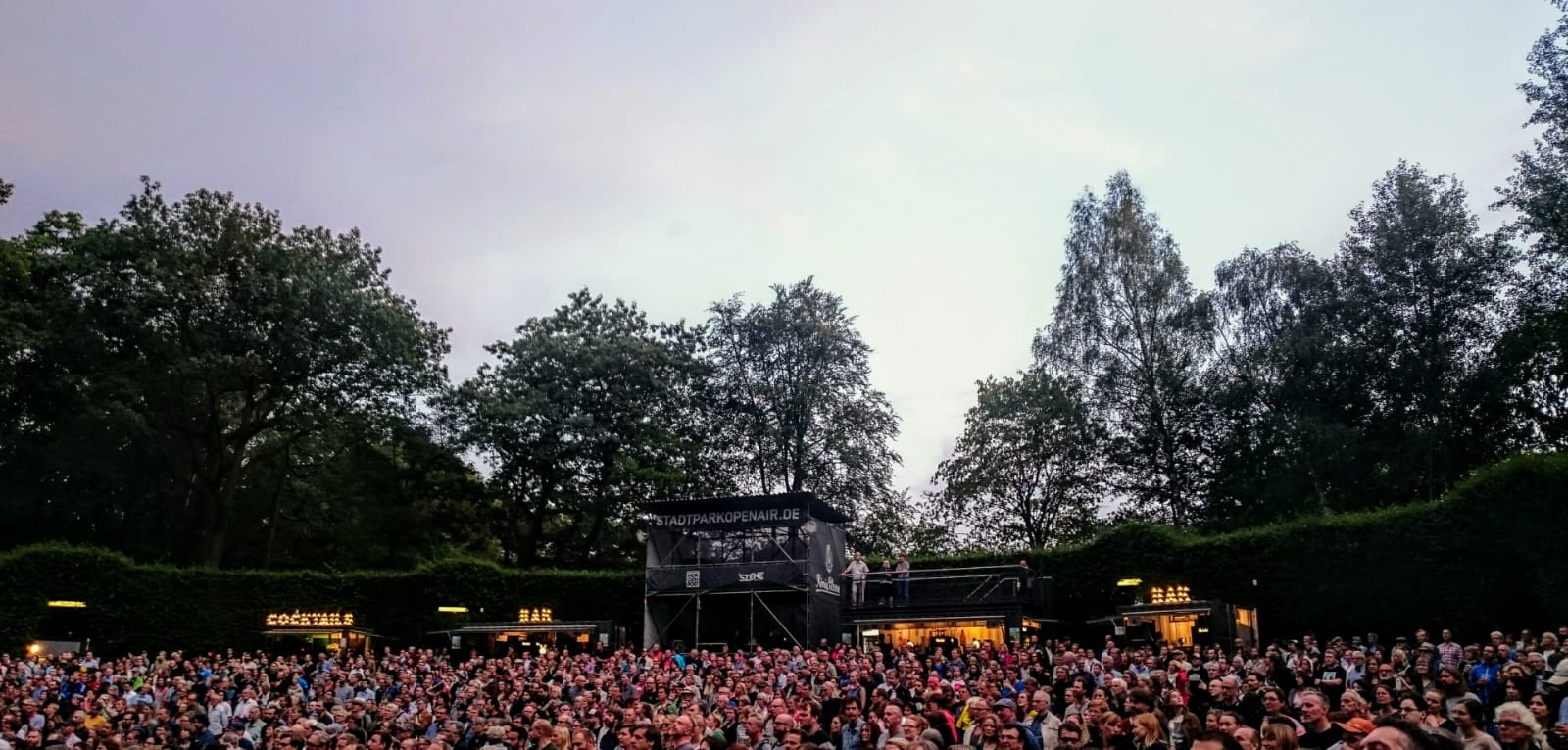 Calexico, Iron & Wine, Stadtpark, Hamburg, Germany, Open Air, concert, Years To Burn, Album, Folk, Pop, Country, Trees