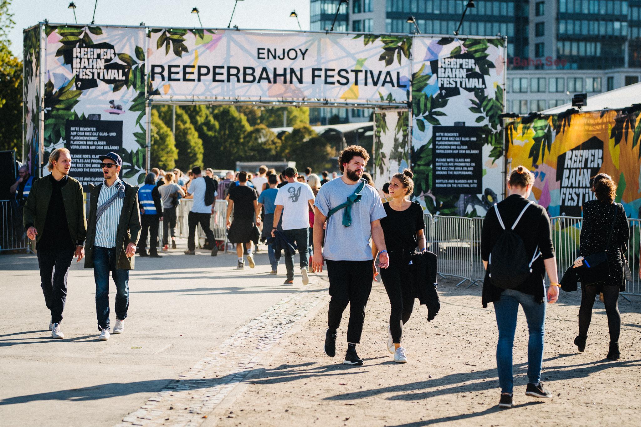 Reeperbahn Festival, Festival Village, atmosphere, St. Pauli
