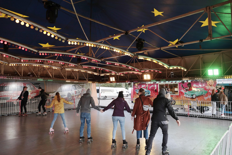 Rollerskate Jam, Autoscooter, Heiligengeistfeld, Festival Village