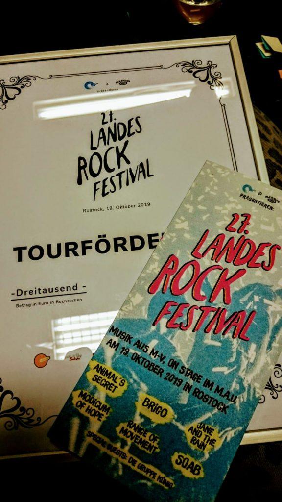 Landesrockfestival, Mecklenburg-Vorpommern, Rostock, band, contest, PopKW, concerts, Mau Club, winner, SOAB, Animal's Secret, Jury