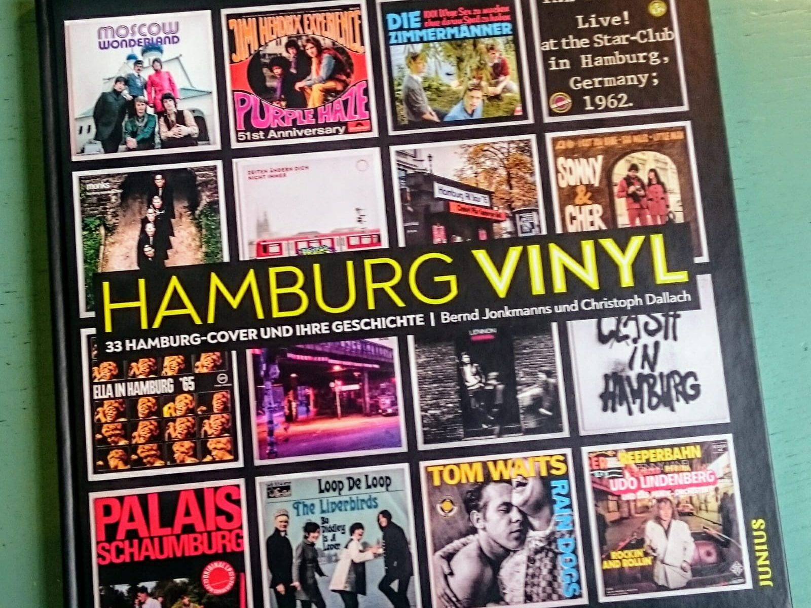 Vinyl, Hamburg, Hamburg Vinyl, Book, Buch, Records, Cover, Artwork, Photography, Bernd Jonkmanns, Journalist, Christoph Dallach, Onkel Pös, Tom Waits, Cher, Liverbirds