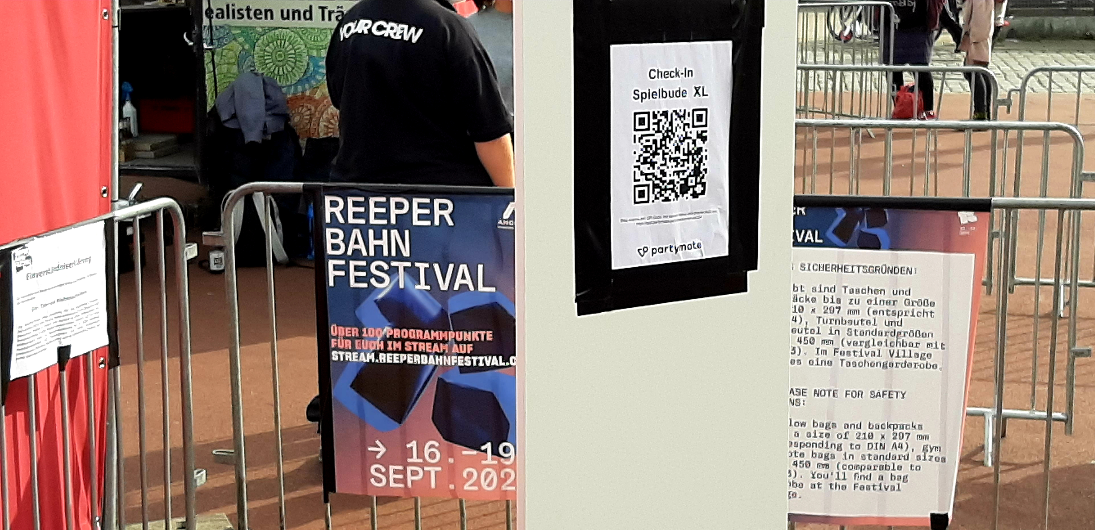 Reeperbahn Festival, Tag 4, Fazit, Spielbudenplatz, Check, Security