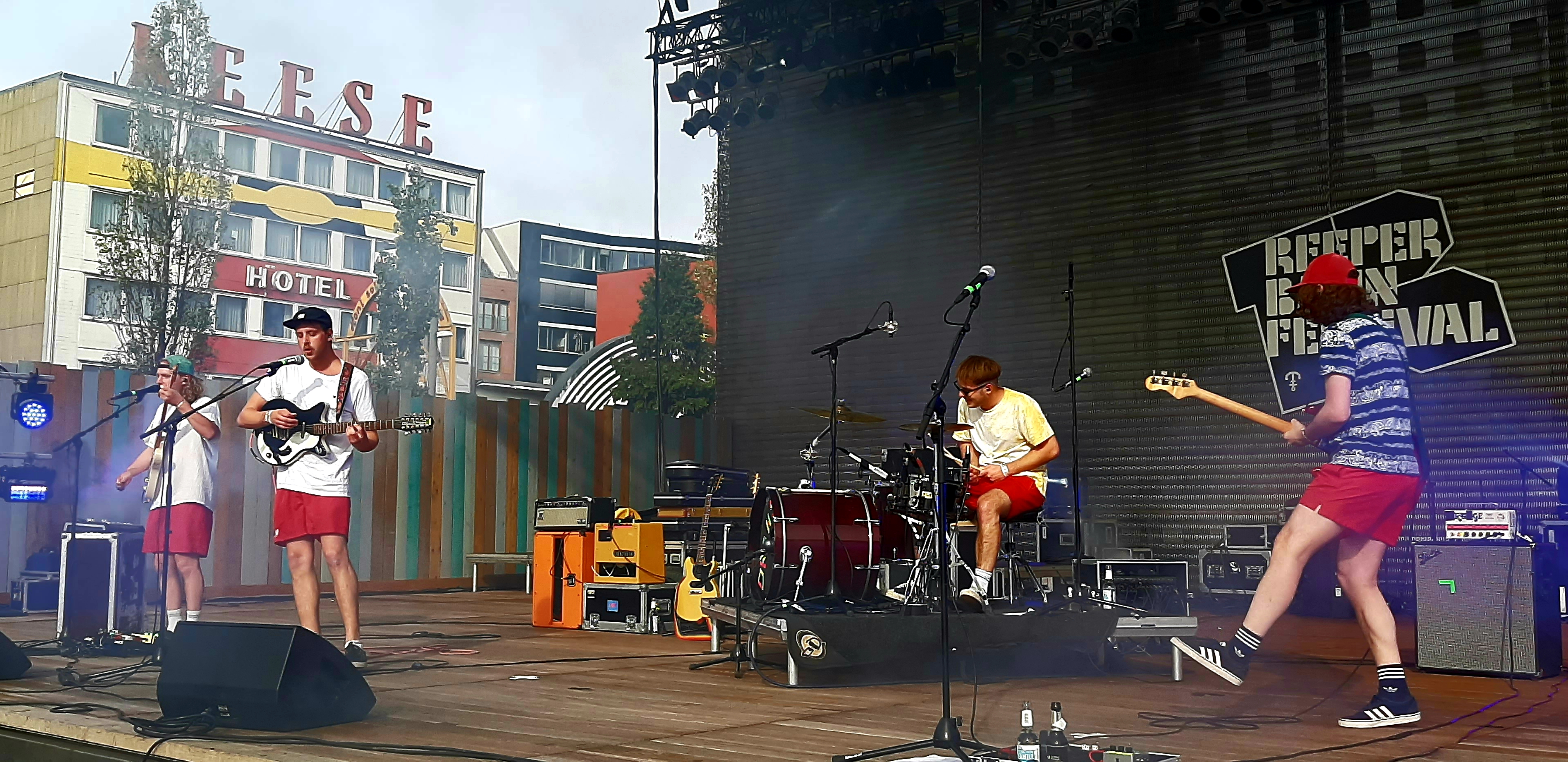 Reeperbahn Festival, Hamburg, St. Pauli, Tag 4, Fazit, Spielbudenplatz, Drens, Band, Dortmund