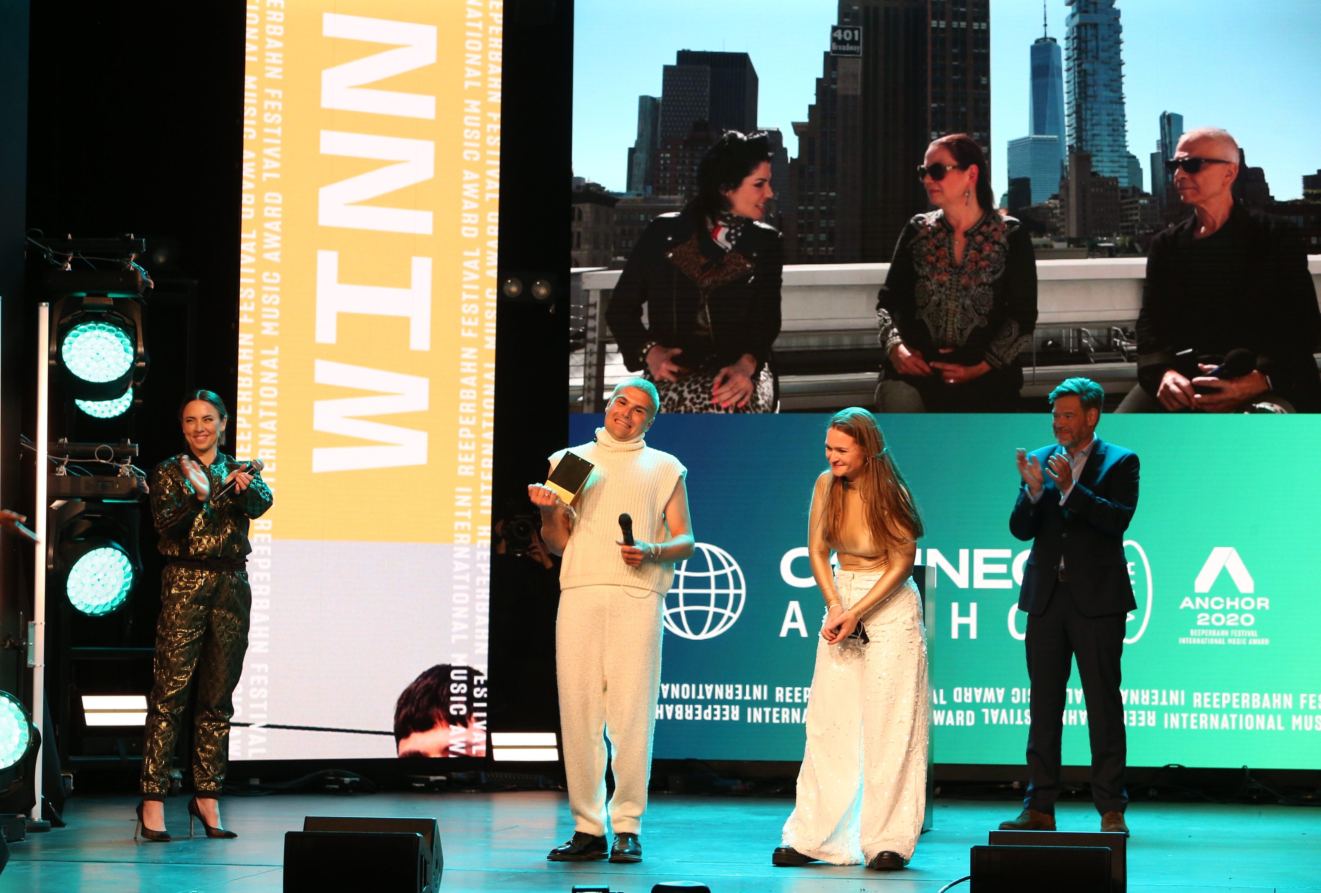 Ätna, Anchor Award, Reeperbahn Festival