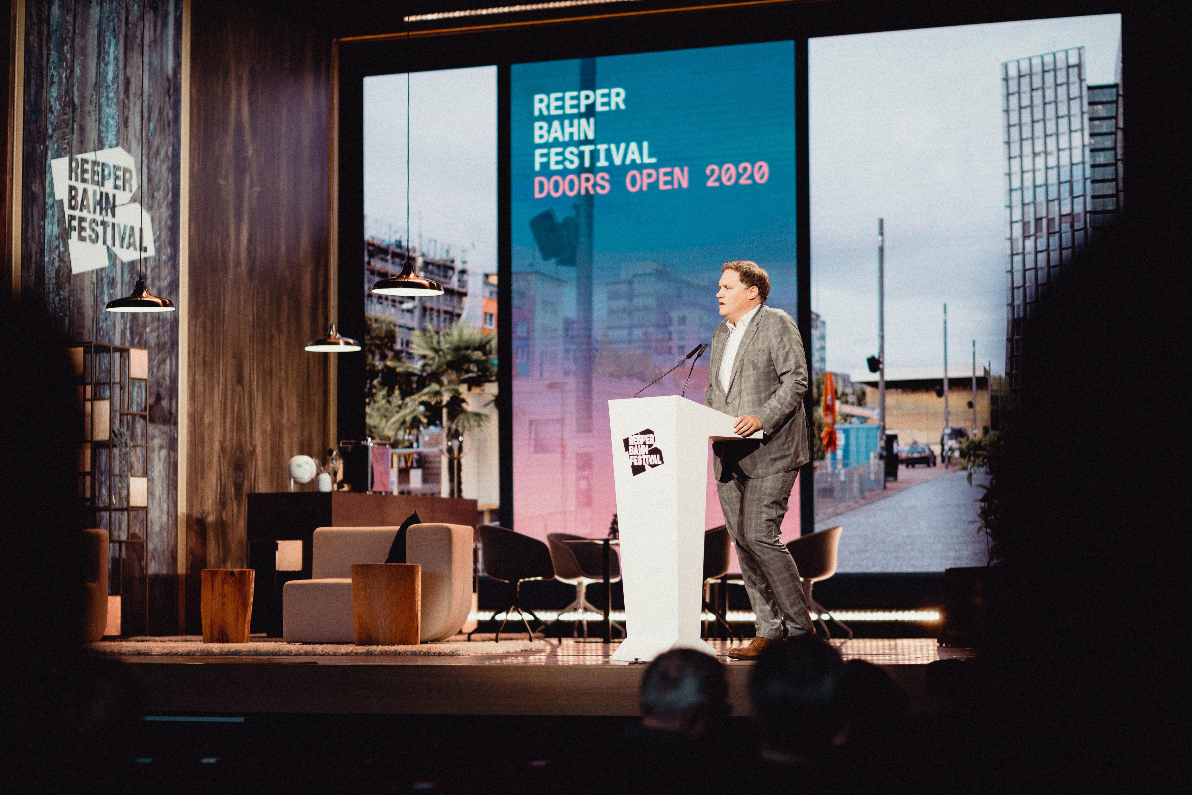 Kultursenator, Carsten Brosda, Doors Open, Reeperbahn Festival, Hamburg