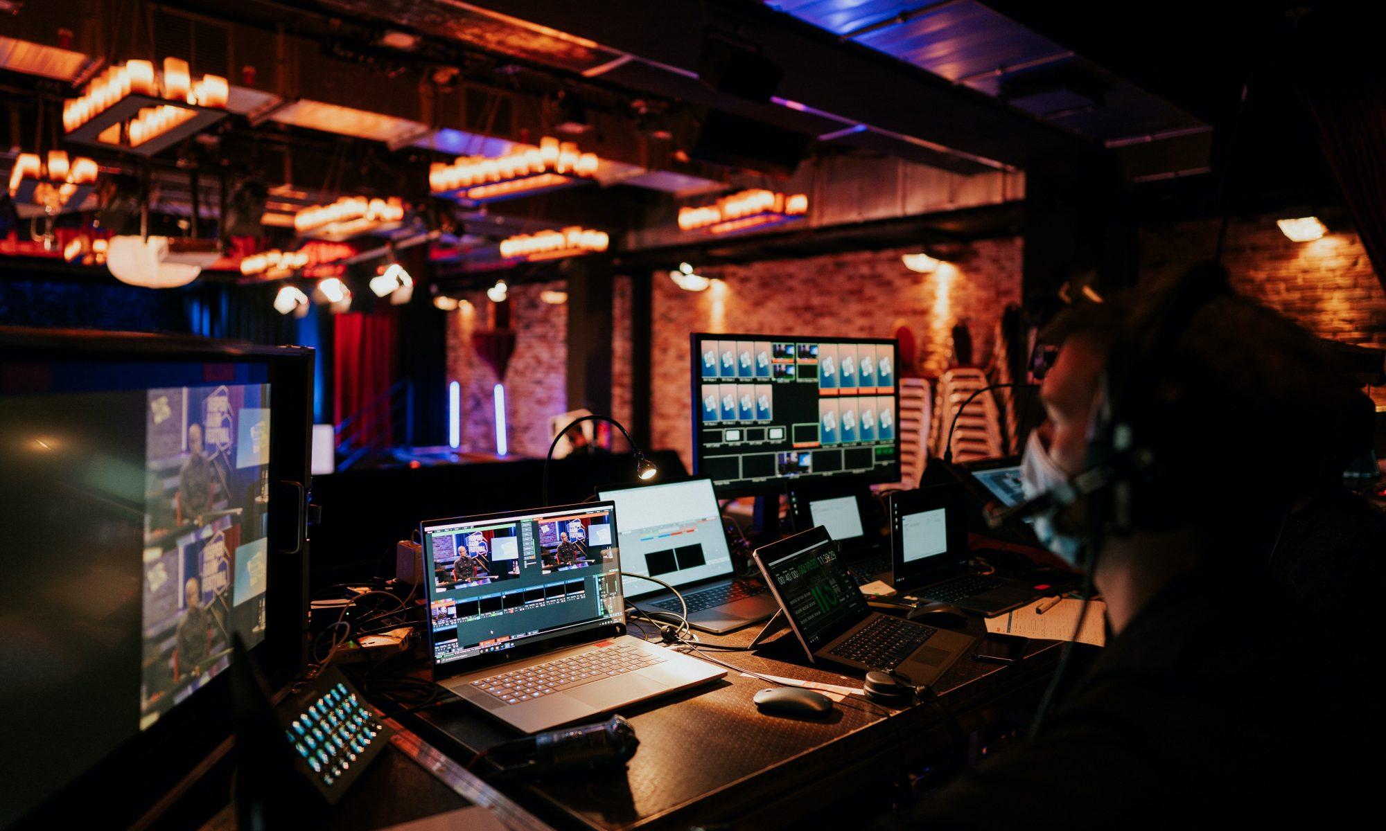 Reeperbahn Festival, Konferenz, Streaming, Studio, Technik