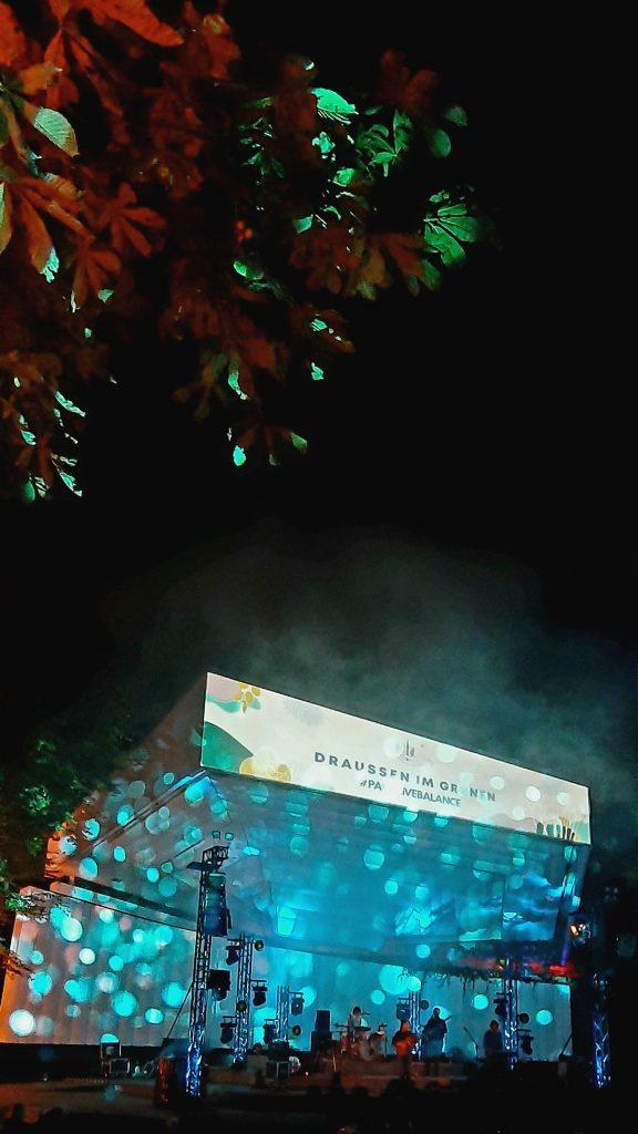 Draussen im Grünen, Musikpavillon, Planten un Blomen, Popup Records, OHA!
