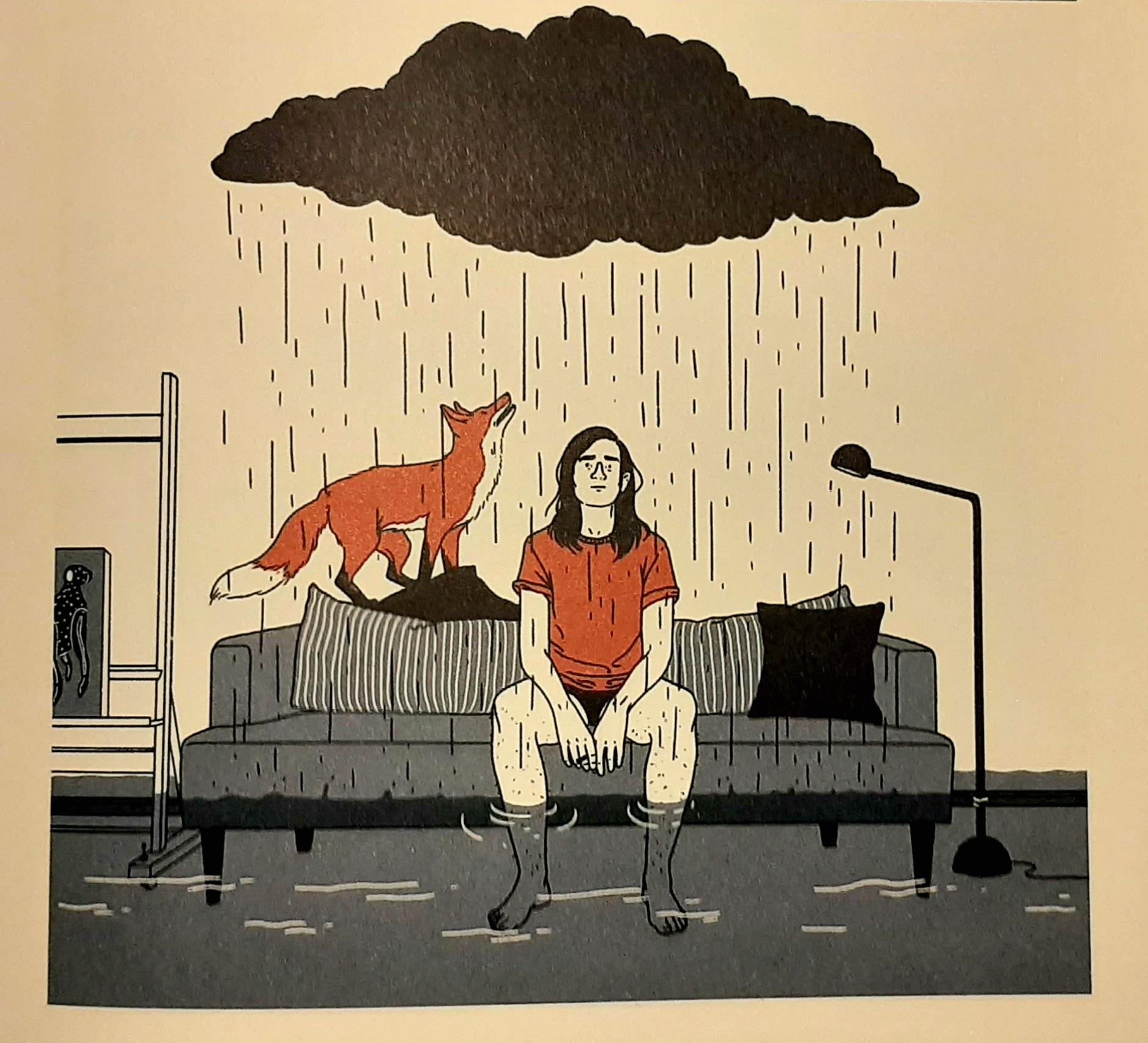 Illustration, Julia Bernhard, Tocotronic, Songcomics, Sie wollen uns erzählen, Ventil Verlag