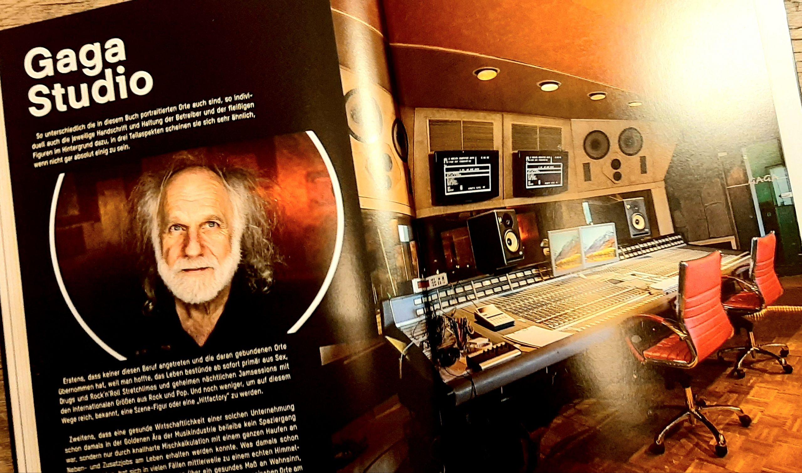 Sound, Production, Musikstudio, Clouds Hill, Soundlotsen, Musikbuch, Musikbücher, Hans-Jürgen Steffen, Gaga Studios
